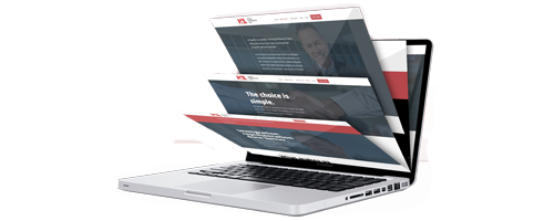 Holthe Immigration Law website